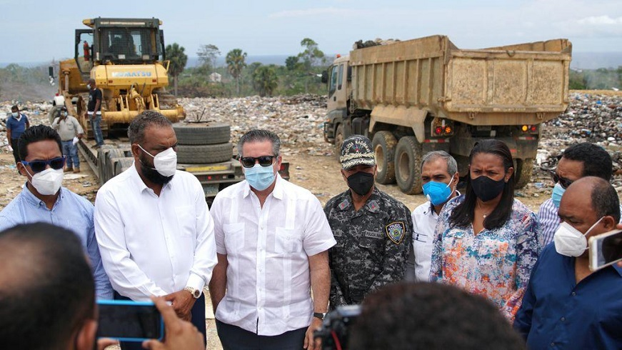 Gobierno anuncia intervención técnica vertedero de Sosúa.