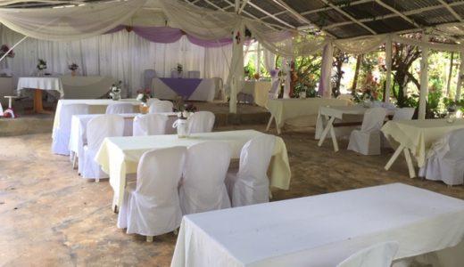 Salón de eventos donde se realizan temáticas actividades.