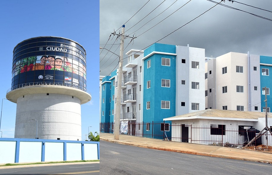 CAASD garantiza suministro agua potable a comunitarios Ciudad Juan Bosch.