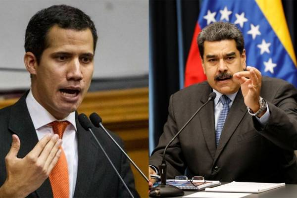 Juan Guaidó concilia diálogo con Nicolás Maduro.