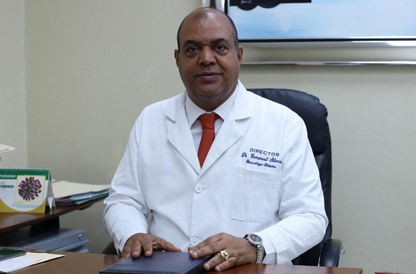 Director del Hospital Moscoso Puello Enmanuel Silverio.