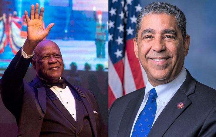 Congresista de origen dominicano reconoce Johnny Ventura en Congreso Estados Unidos.