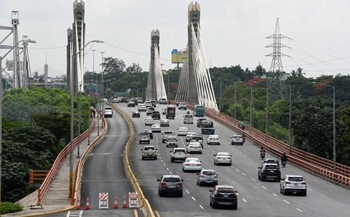 MOPC finaliza trabajos remozamiento puente Juan Bosch.