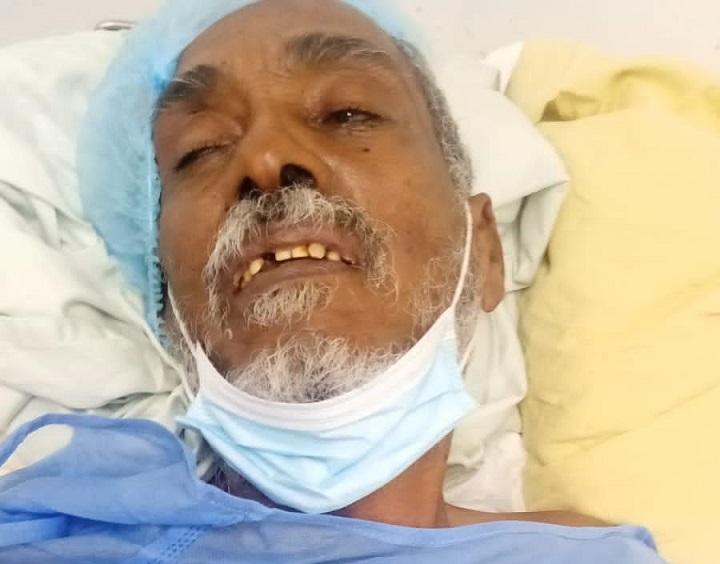 Buscan familiares de Elvío Mancebo ingresado en Hospital Salvador Gautier.
